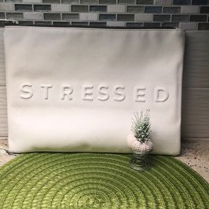Stressed But Well Dressed by Zara clutch
